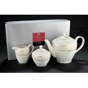 Чайник, сахарница, молочник Areli Oro