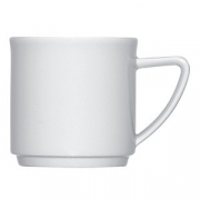 Чашка чайная «Опшенс», фарфор, 180мл, белый