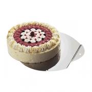 Подставка для торта, сталь нерж., D=30см