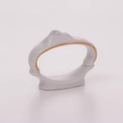Кольцо для салфетки 5,5*6,5 см «Бернадот белый 311011»