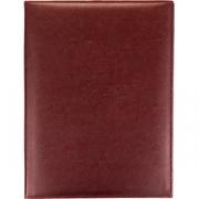Папка-меню на винтах L=32, B=24.5см; бордо