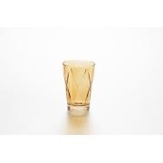 Набор стаканов «Джой» 4 шт 360 мл, цвет: янтарь
