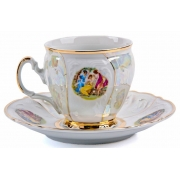Набор для чая на 6 перс. 12 пред. высокие «Бернадот Мадонна»