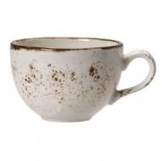 Чашка чайная «Крафт», фарфор, 225мл, белый