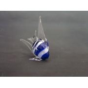 Рыба стекл. 21 см синяя