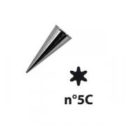 Насадка конд. «6-конечная звезда»; сталь нерж.