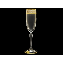 Бокал для шампанского Люция, Платиновая коллекция