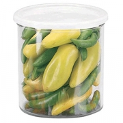 Контейнер для пищев.продуктов, пластик, D=13.3,H=13.7см, прозр.