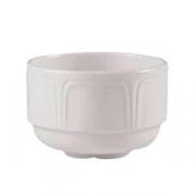 Бульонная чашка «Торино вайт», фарфор, 285мл, белый