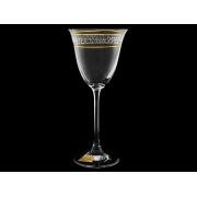Бокал для вина «Флора» «Полоска бесцветноно панто»