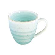 Кружка Artesanal (зел-голубая) без инд.упаковки