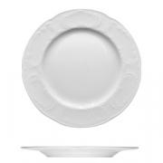 Тарелка мелкая «Моцарт», фарфор, D=16см, белый