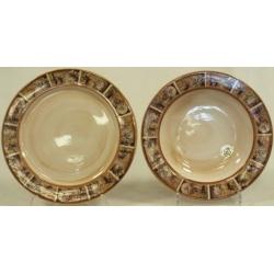 Набор тарелок «Кантри» Суповая -23,5 см; обеденная -25 см