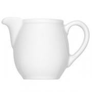 Молочник с ручкой «Бонн», фарфор, 100мл, белый