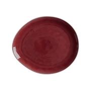 Тарелка овальная большая Artisan (Гранатовый) без инд.упаковки