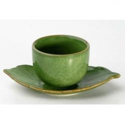 Пара чайн. «Лист» 70мл зеленая