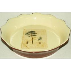 Круглое блюдо для выпечки «Сосна» 26 см