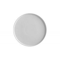 Тарелка обеденная Икра (белая) без индивидуальной упаковки