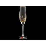 Бокал для шампанского «Травка«Престиж