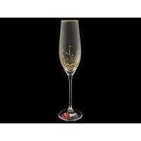 Бокал для шампанского «Травка«Престиж» (набор 6 шт.)