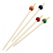 Шпажки для канапе «Фло» [200шт], бамбук, L=10см