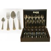 Набор столовых приборов 24 предмета на 6 персон «London» в деревянной коробке.