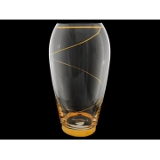 Ваза 29 см «Золотая спираль»