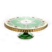 Тортница н/н 30 см. «Лепка зеленая»