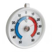 Термометр для холодильника (-50+50С), пластик, D=70,H=15мм, белый