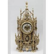 Часы «С ландышами» золотистый 46х24 см.