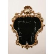 Зеркало «Принцесса» золотистый 82х64 см.
