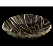 Салатник круглый 33,6 см BAMBOO золотой