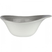 Салатник «Скейп грей» D=15.5см; серый