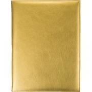 Папка-меню на винтах L=32, B=25см; золотой