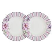 Набор из 2-х суповых тарелок Цветочная феерия