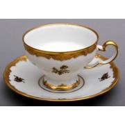 Набор чайный 210 мл. на 6 перс. 12 пред. «Роза золотая»