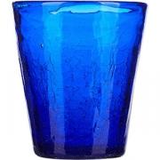 Стакан «Колорс» стекло; 310мл; синий