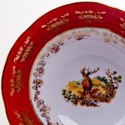 Набор салатников «Мария - Охота красная» 16 см. 6 шт.
