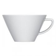 Чашка чайная «Опшенс», фарфор, 260мл, белый