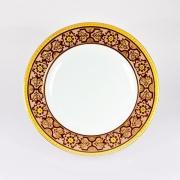 Набор 6 тарелок подстановочных «Кашемир» коричневый