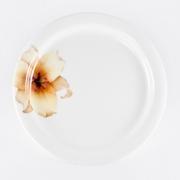 Набор 6 тарелок подстановочных 26,5см «Бежевая лилия»
