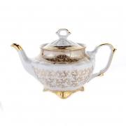 Чайник 600мл «Лист бежевый»
