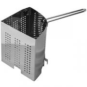 Стрейнер для кастрюли «Проотель», сталь, D=32,H=18,B=24см, металлич.