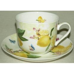 Чашка с блюдцем «Цитрон» 0,4 л