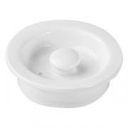 Крышка для чайника «Кунстверк», фарфор, 900мл, D=8см, белый