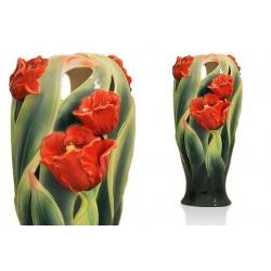 Ваза «Тюльпаны» 25 см