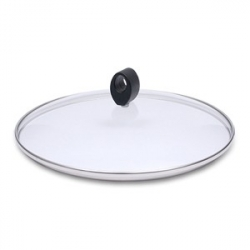 Крышка, dia 26 см, стекло/пластик