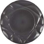 Тарелка мелкая «Саксэшен» D=26, H=2.8см; черный