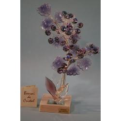 Бонсай хризантемы лиловый 25 см