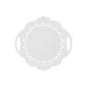 Тарелка сервировочная с ручками Лилия в подарочной упаковке